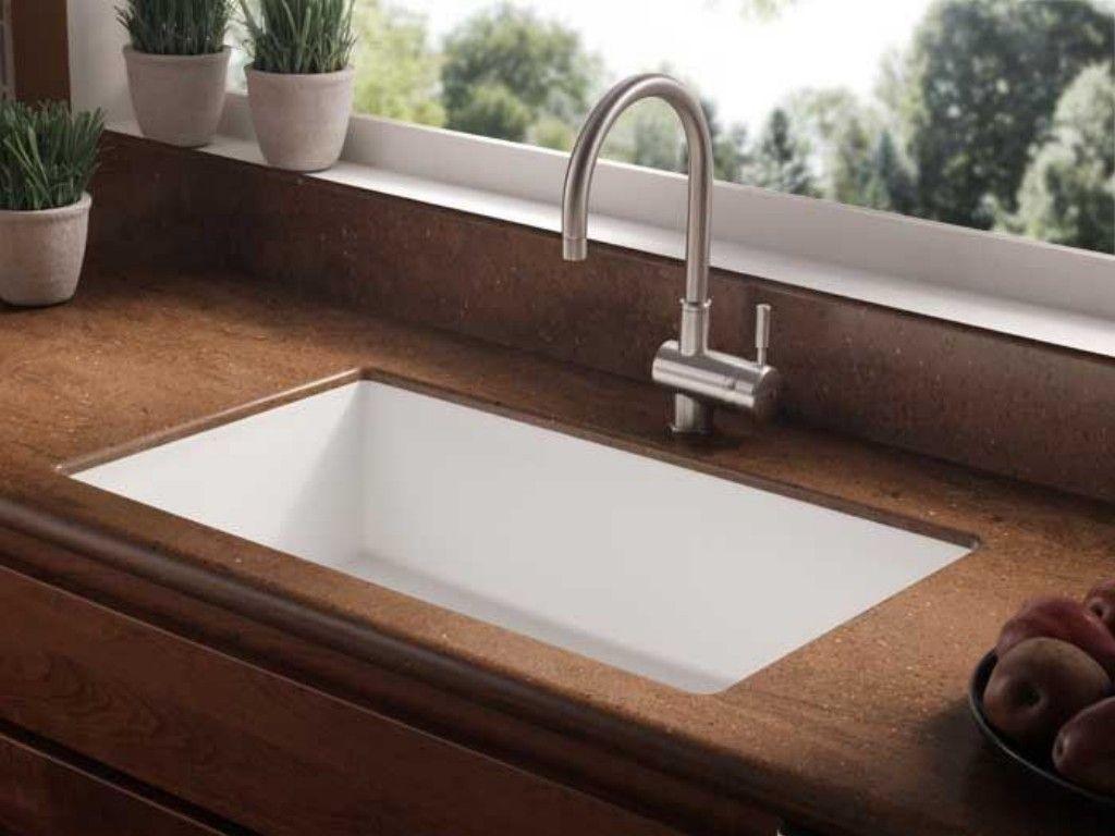 Corian Undermount Kitchen Sink | Kitchen | Pinterest