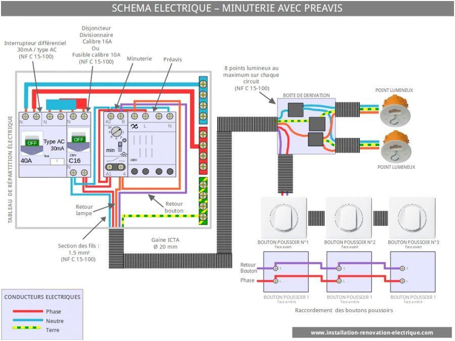 14 Primaire Schema Electrique Eclairage Exterieur Pics Electrical Wiring Electricity Electrical Engineering