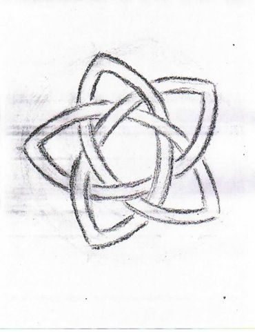Grade 4 Form Drawing Pentagram Knot 2 With Images Form