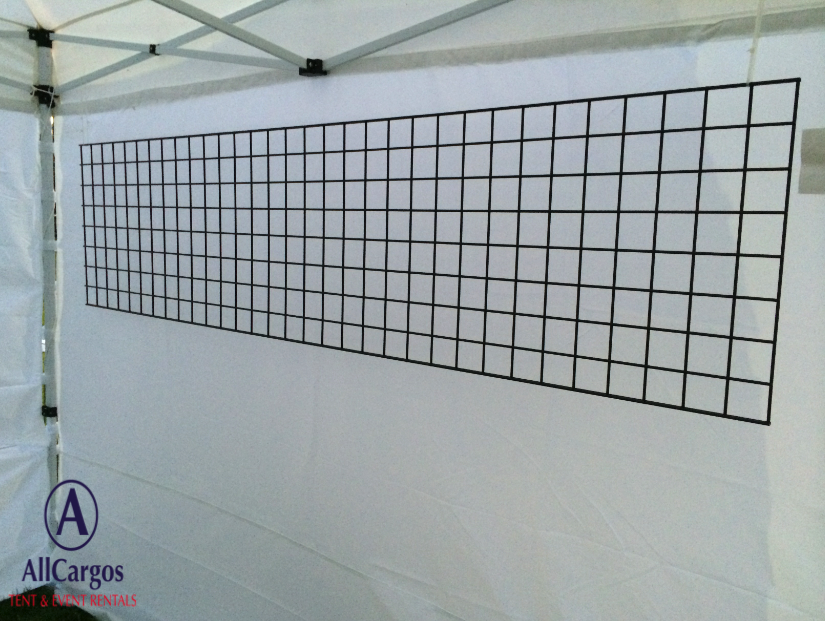 2×8 Black Wire Display Grid Panel | Jewelry Display/Packaging ...