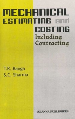And pdf estimating banga and costing mechanical sharma