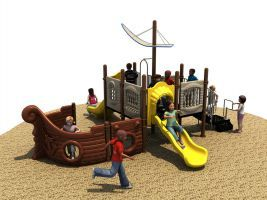 Your 2 5 Year Old Pirates In Training Will Love This Ship Themed Outdoor Playset Requiring 36 X 31 Play E