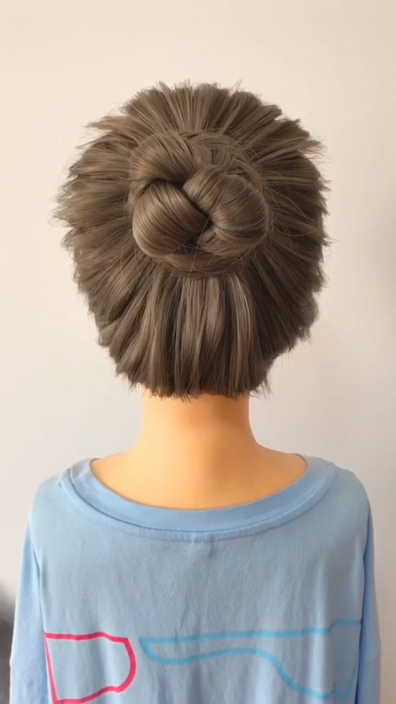 DIY Prom Wedding Updo Hairstyle Tutorial video step by step eas