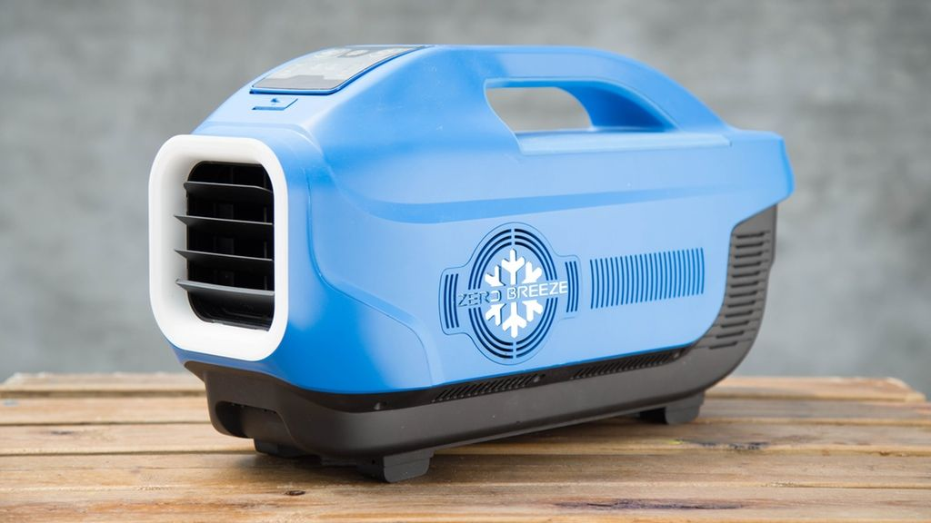 Portable air conditioner for camper expert event zero breeze a battery powered portable air conditioner that includes helpful travel features publicscrutiny Images