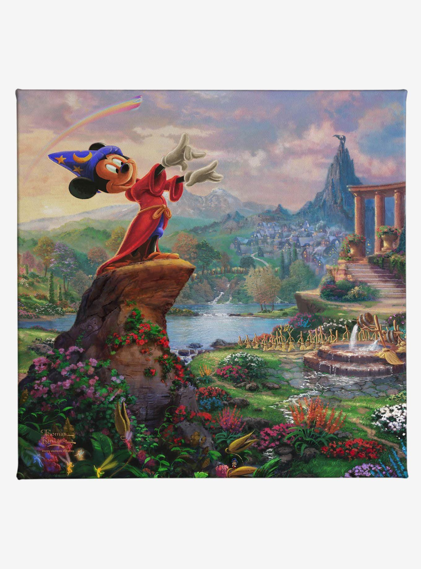 Disney Fantasia Gallery Wrapped Canvas in 2020 Thomas