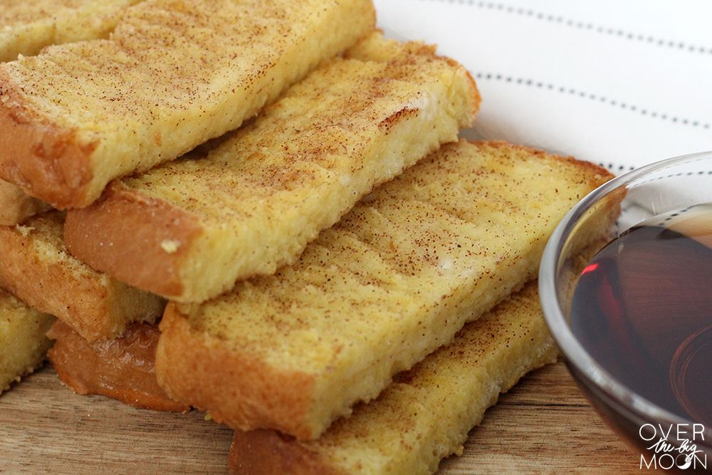 Easy baked french toast sticks my kids love these plus ill kids love these easy baked french toast sticks they not only eat them better but we love to make them in bulk and freeze bags for later ccuart Images