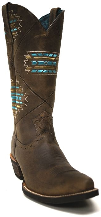 Ariat Women's Brown Cheyenne Boots -- Shouldn't every girl have a pair of boots that are just as beautiful as she is, inside and out. | SouthTexasTack.com