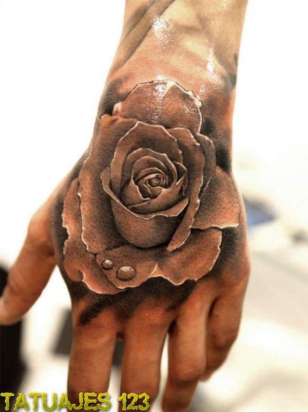 15 Tatuajes 3d en la mano