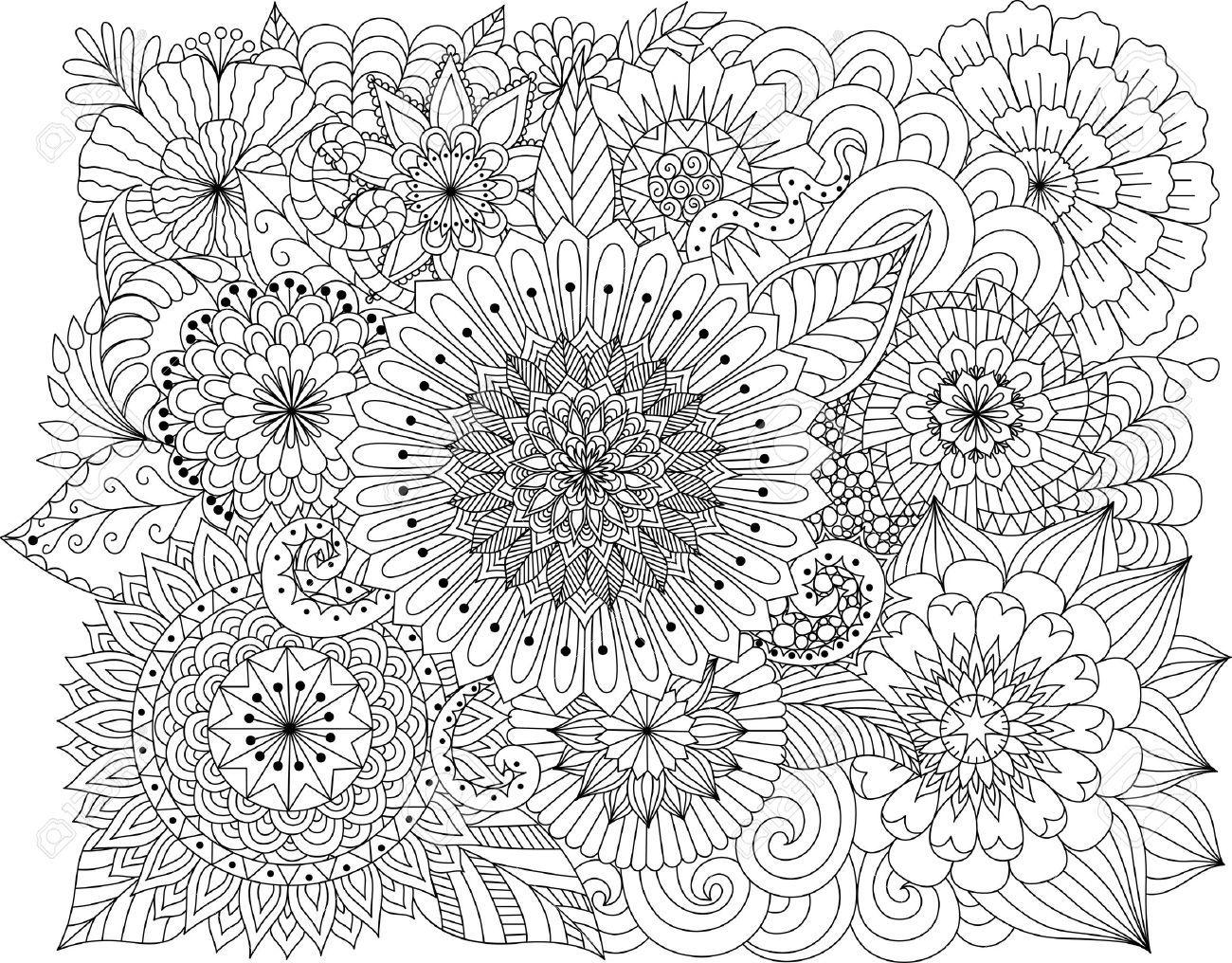 Resultado De Imagen Para Dibujos Para Pintar De Princesas: Resultado De Imagen Para Mandalas Dificiles Para Colorear