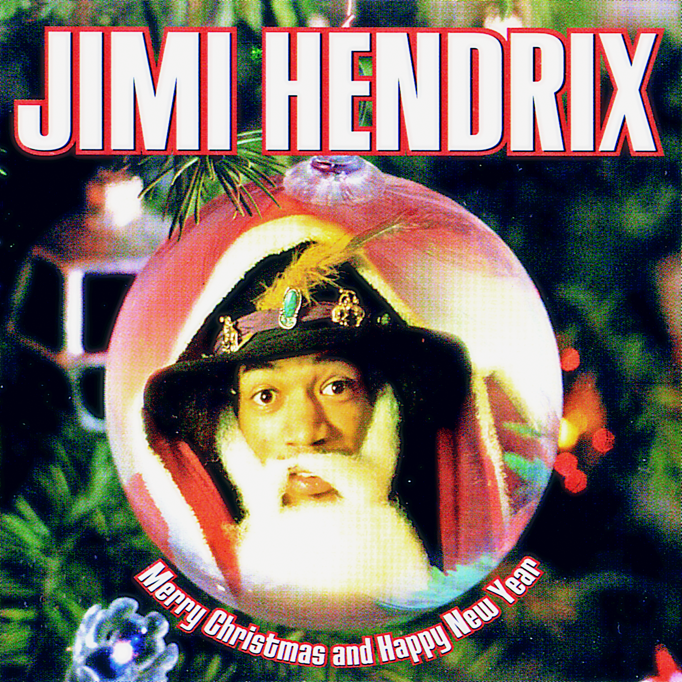 jimi hendrix merry christmas and happy new year album cover