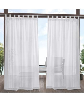Exclusive Home Curtains Miami Indoor Outdoor Tab Top Curtain Panel