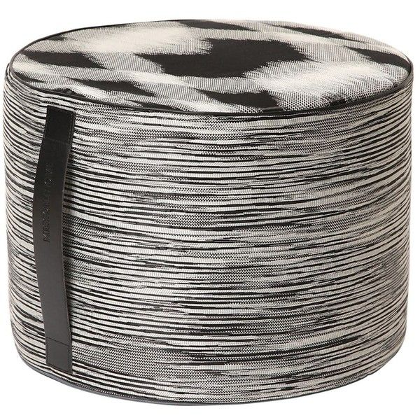 Missoni Home Sakai Pw Pouf (925 AUD) ❤ liked on Polyvore featuring ...