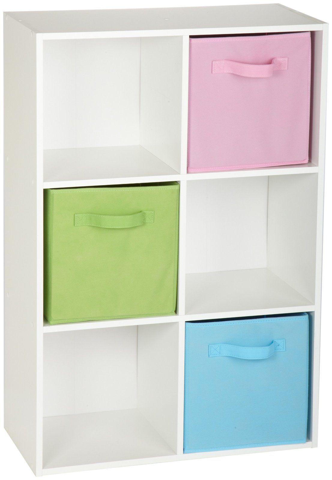 ClosetMaid 899600 6 Cube Stackable Laminate Organizer