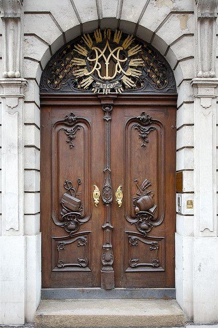 Augsburger Ture Old Doors Unique Doors Medieval Door