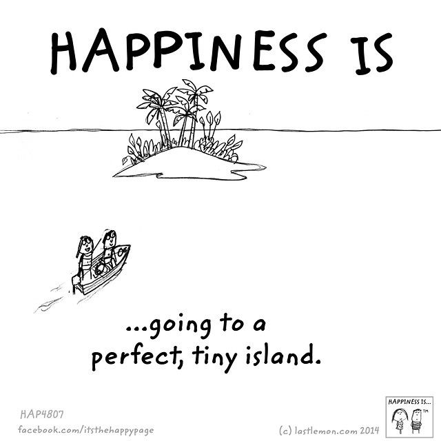 What makes you happy?  Let us know at http://lastlemon.com/ and we'll illustrate it.