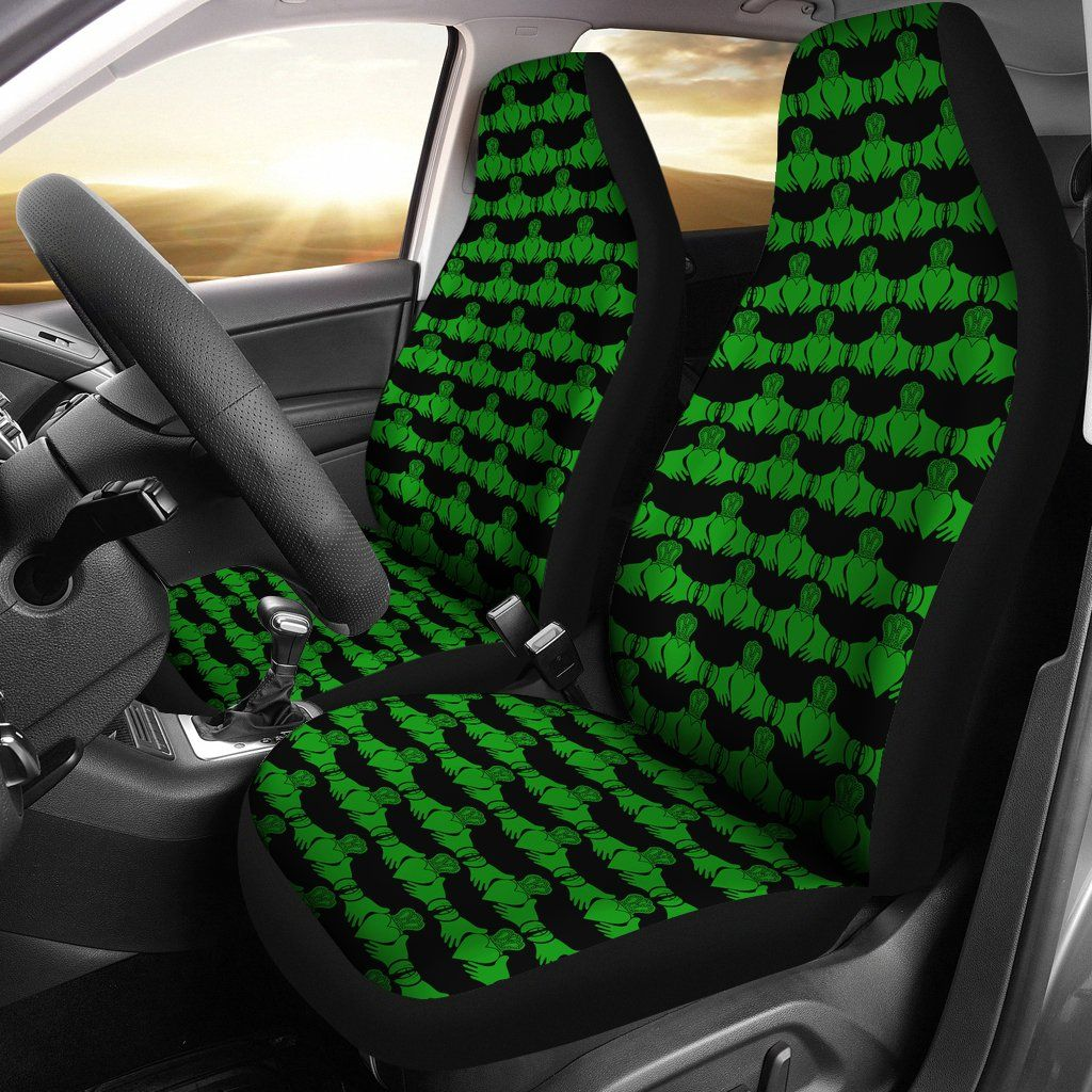 Irish Claddagh Car Seat Covers (Set of 2) Carseat cover