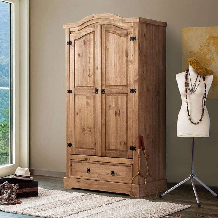 guarda roupa de madeira maciça rustico - Pesquisa Google | guarda ...