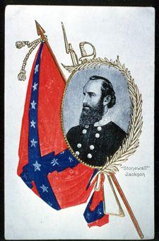 Stonewall Jackson postcard