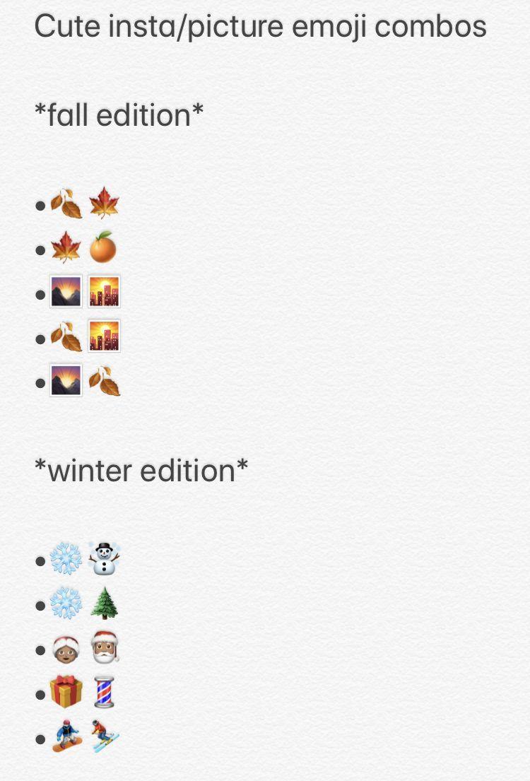 Funny Emoji Combinations Funny Emoji In 2020 Instagram Quotes Emoji Combinations Instagram Quotes Captions