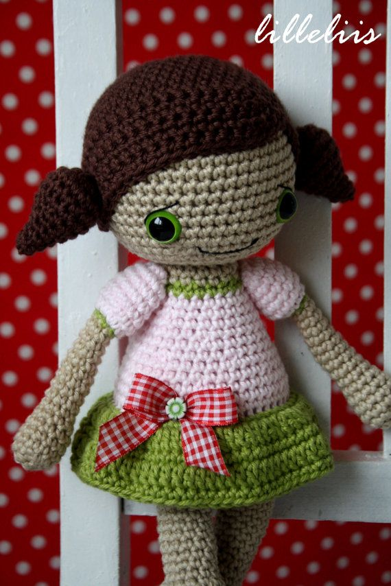 PATTERN Sofia doll crochet amigurumi by lilleliis on Etsy | for the ...