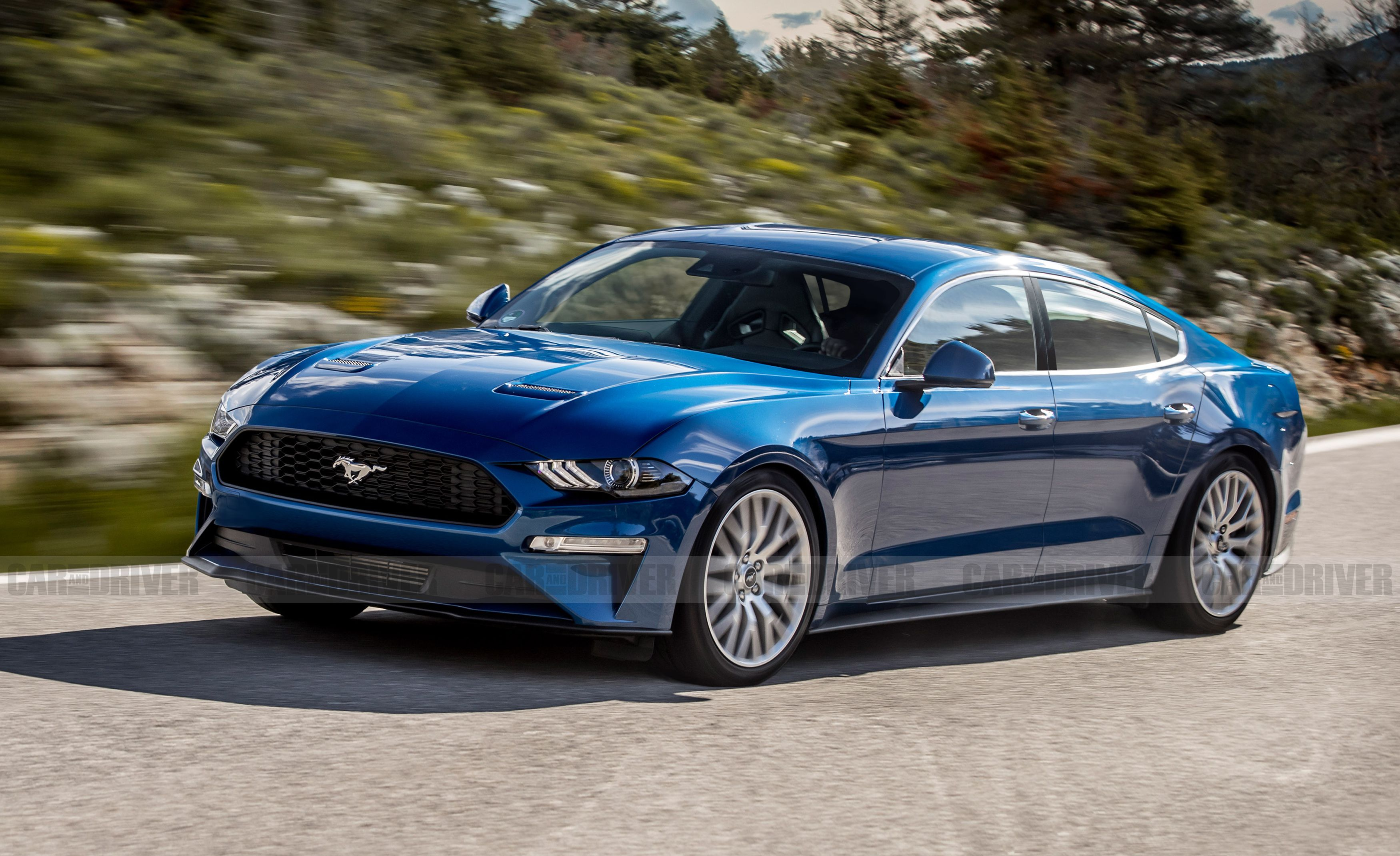 A Four Door Ford Mustang Is Not As Crazy As It Sounds New Ford