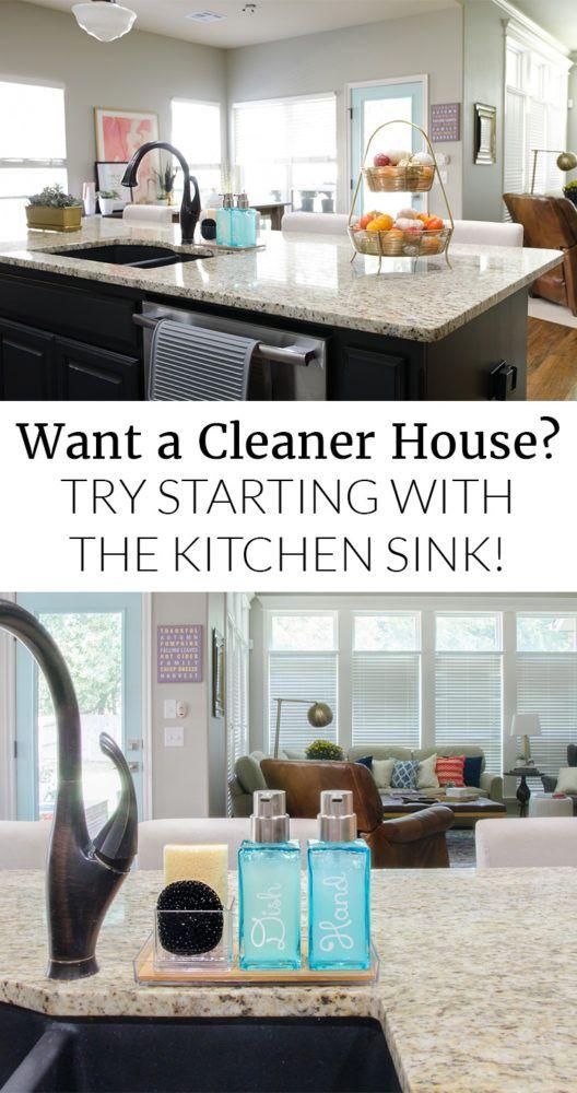Organizing the Kitchen Sink Area   Best of Polished Habitat   Home ...