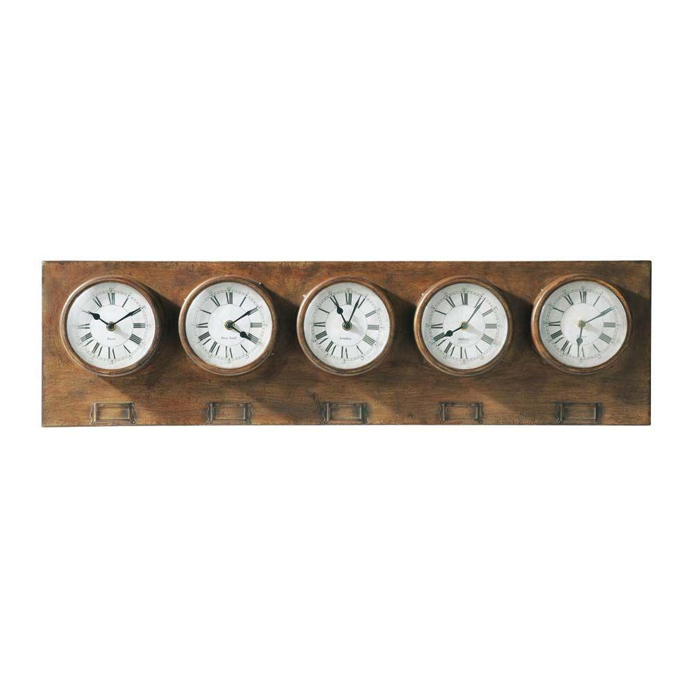 horloges greenford with meuble coca cola maison du monde. Black Bedroom Furniture Sets. Home Design Ideas
