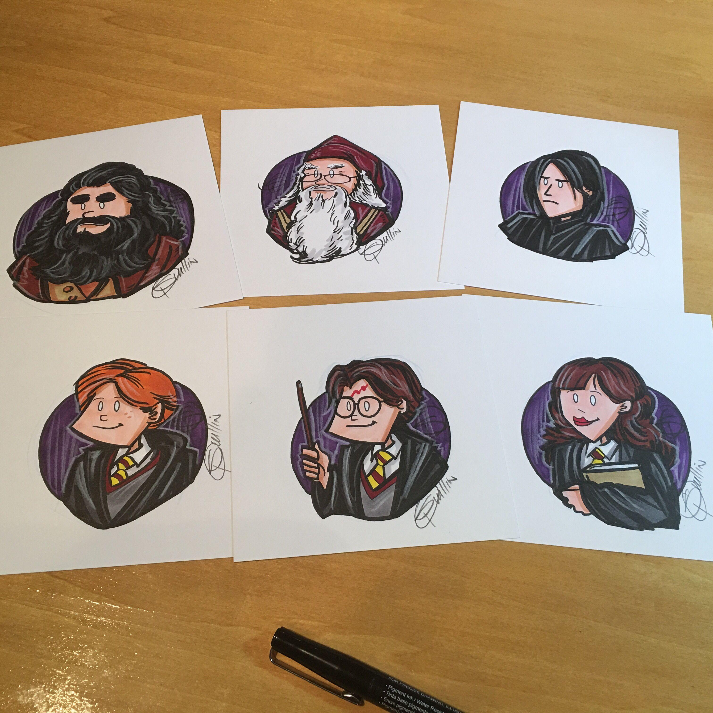 Harrypotter Set Art Drawing Ink Sketch Copic Sketchbook Artist Illustration Potterhead Harry Potter Harry Potter Fantastic Beasts Sketch Book