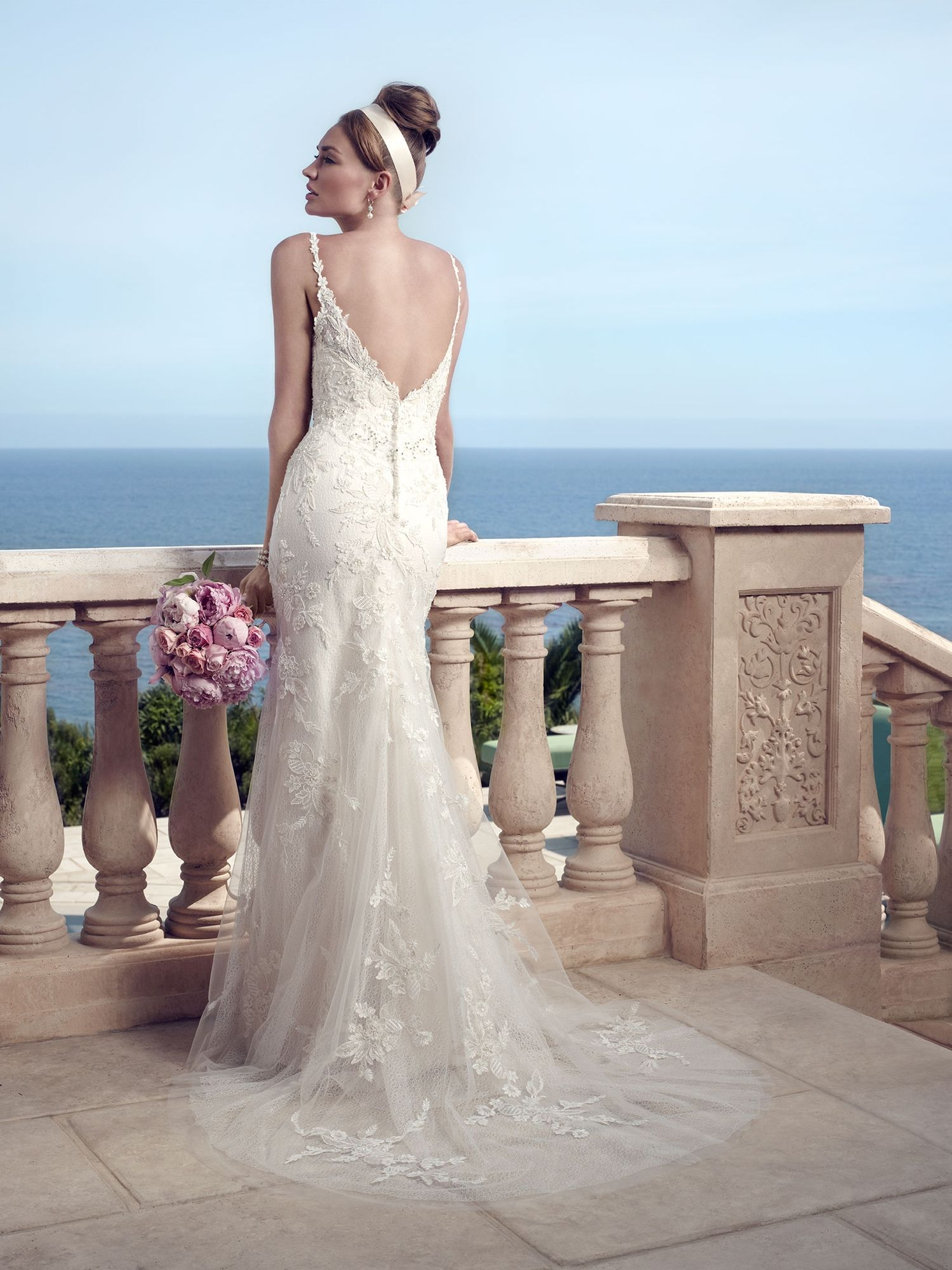 Style 2153 Casablanca Bridal Available at Lulu's