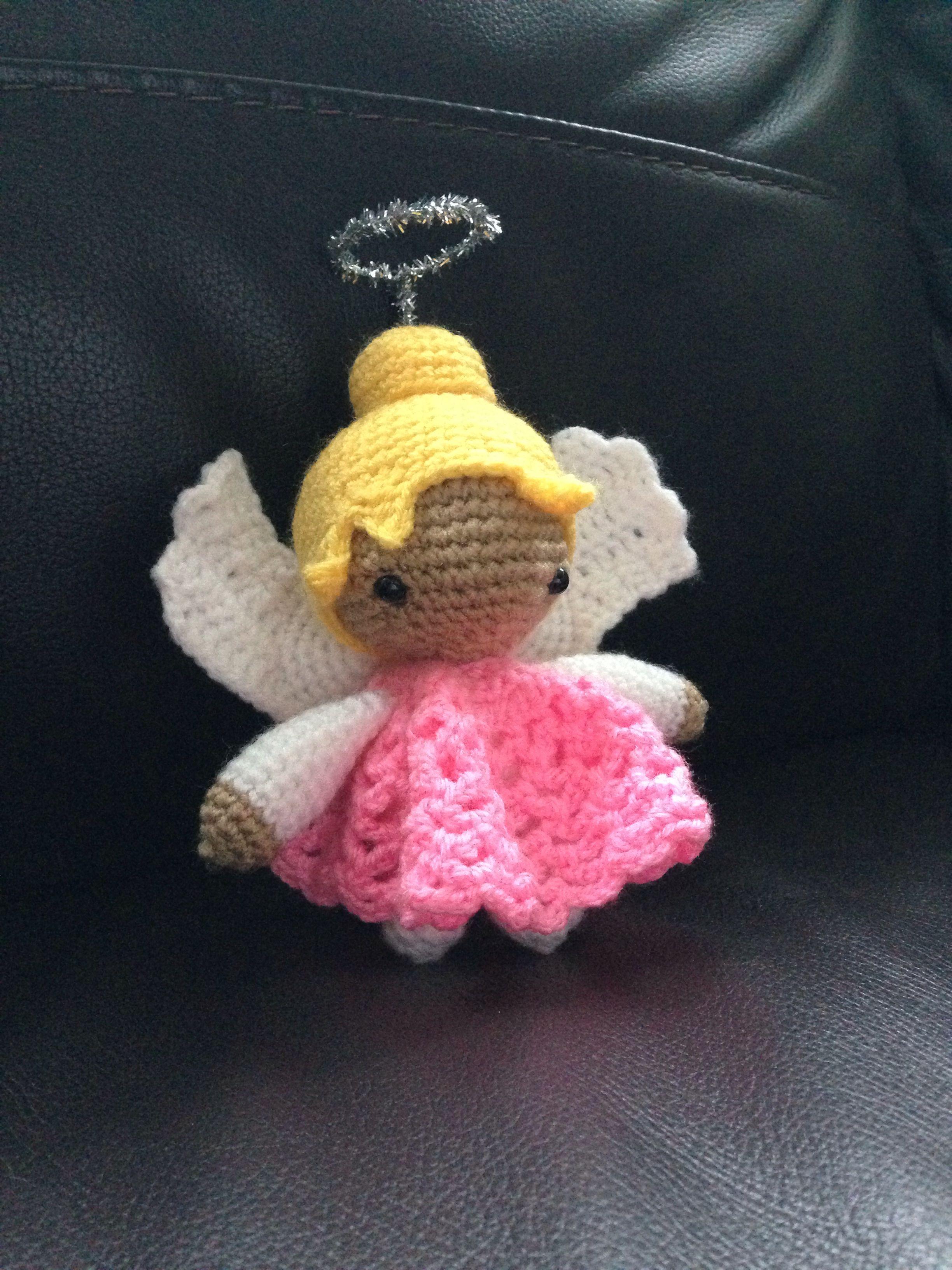 Amigurumi Crochet Christmas Fairyangel