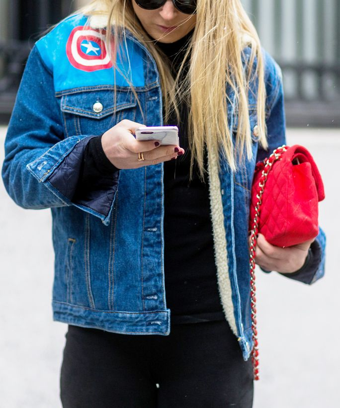 Where to Place Your Patches Like a Cool Girl - Go Solo  - from InStyle.com
