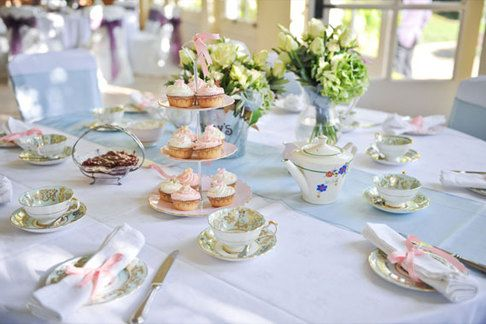 if you are hosting a tea party, the cup and saucer will be an ...