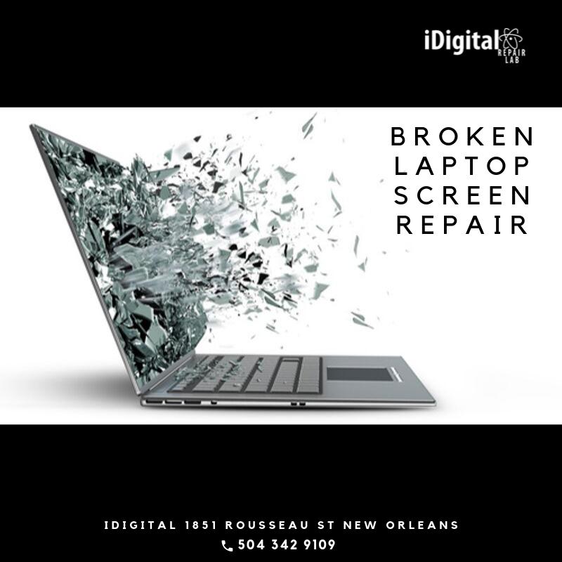 Broken Laptop Screen Png
