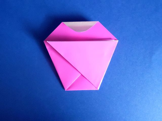 How To Make An Origami Cupcake Birthday Card Know When To Fold Em