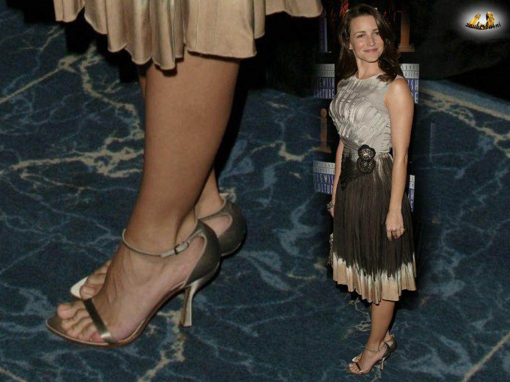 Kristin Davis Feet