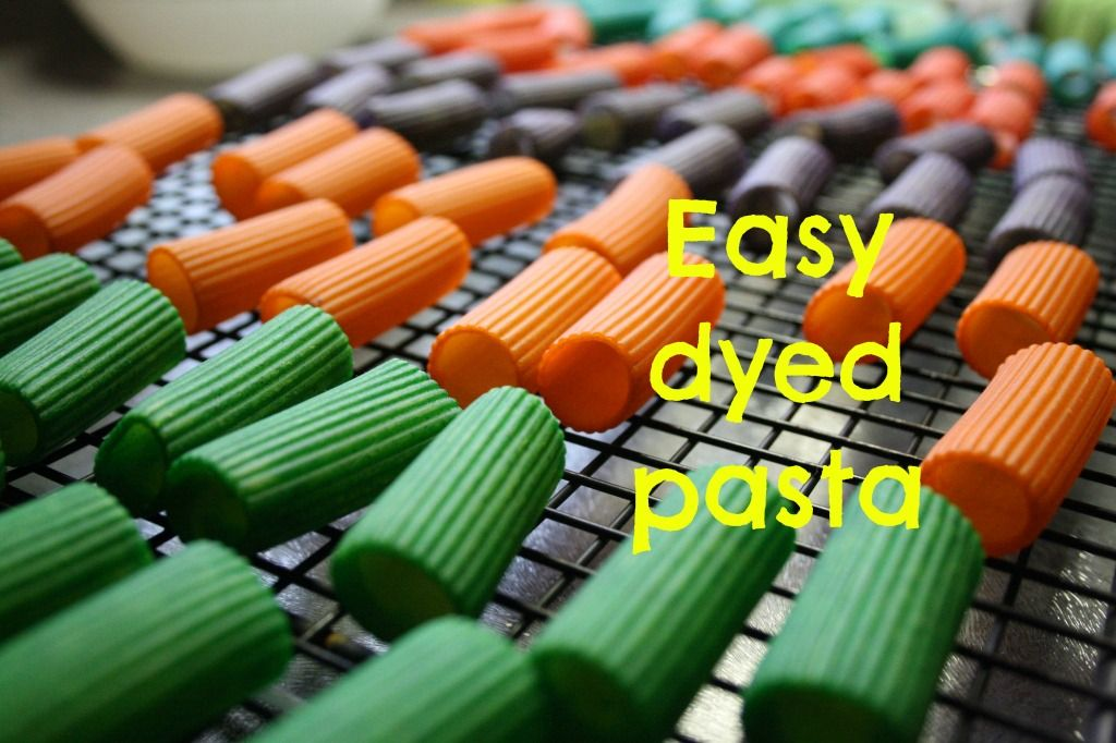 How to Dye Pasta the Easy Way | Pasta, Food and Craft