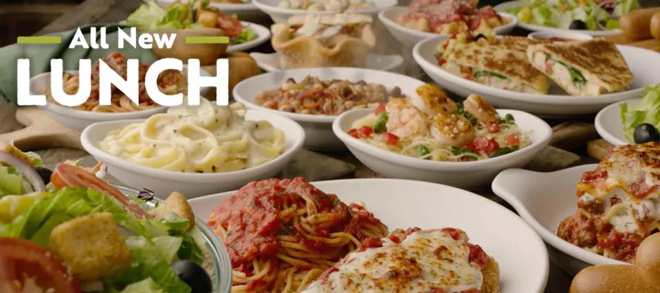 Lunch Favorites at Olive Garden Italian Restaurants in