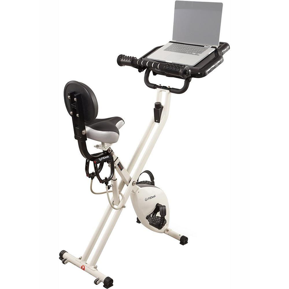 Fitdesk Fdx 2 0 Bike Desk With Drawer Best Exercise Bike Biking