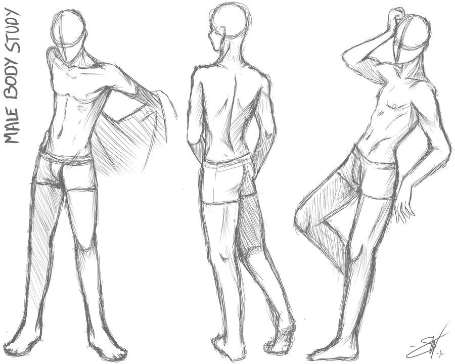 Male Body Study Take Two By Soracooper On Deviantart Drawing Poses Male Male Body Drawing Body Drawing