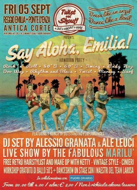 Say Aloha Emilia