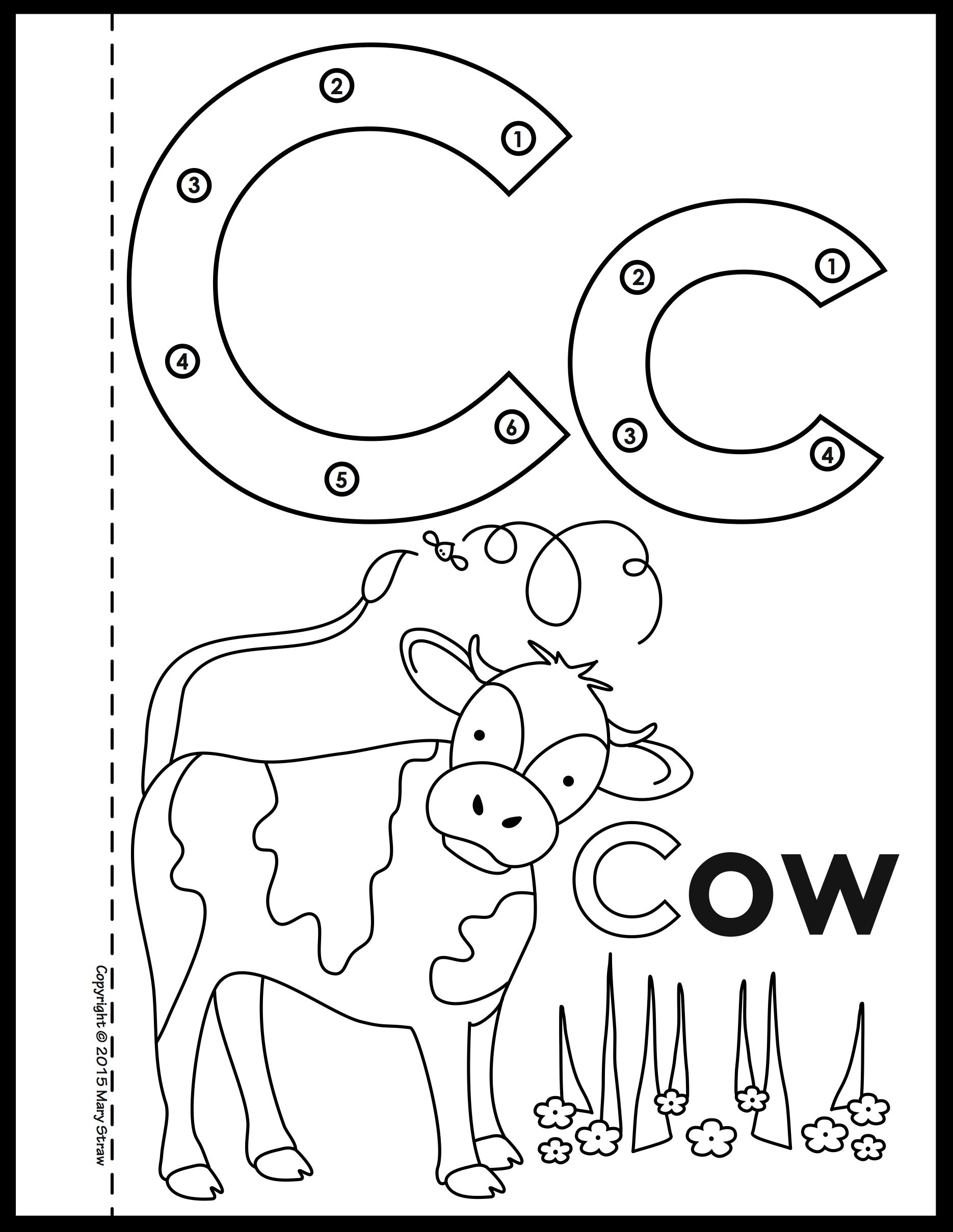 Dot-to-Dot Alphabet Book Activity Coloring Pages in 2020 ...