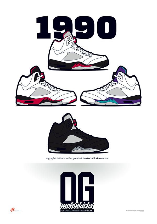 OG Sneaker Series x MelonKicks Prints on Behance