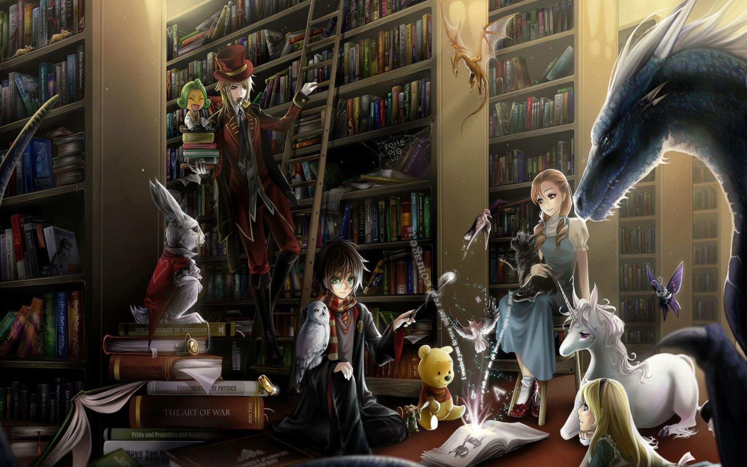 573648.jpg (2560×1600) Harry potter anime, Harry potter