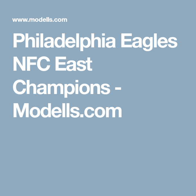 half off 3fbf3 2d183 Philadelphia Eagles NFC East Champions - Modells.com ...