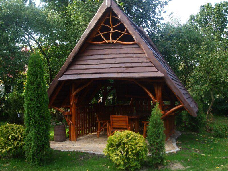 Meble Ogrodowe Drewniane Projekty Drewniane Altany Meble