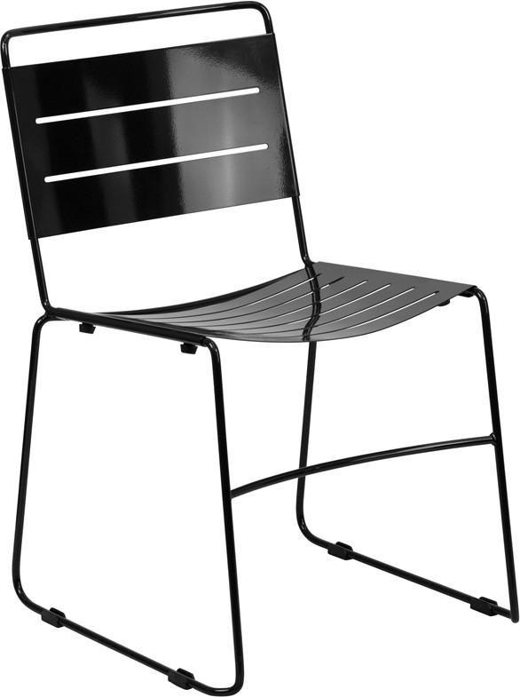 Flash Furniture Hercules Series Indoor Outdoor Metal Stack Chair