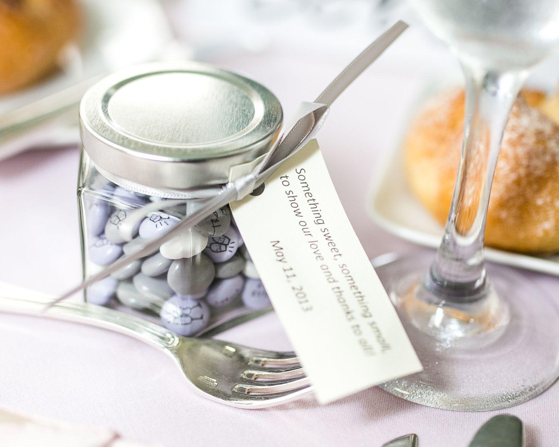 Fine M&m Candy Wedding Favors Composition - The Wedding Ideas ...