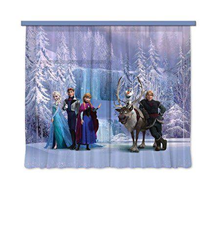 Frozen Kinderzimmer Vorhänge für das Kinderzimmer einer