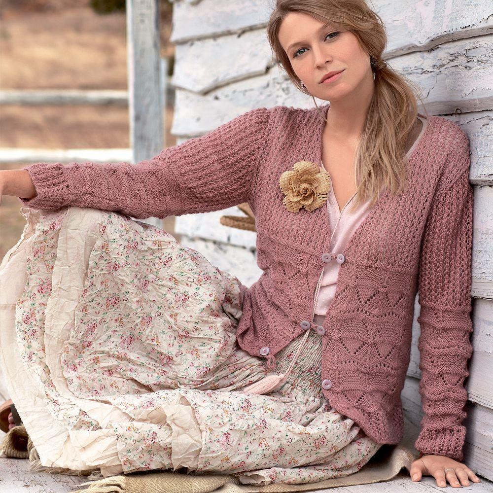 Вязание жилетки 48 размер