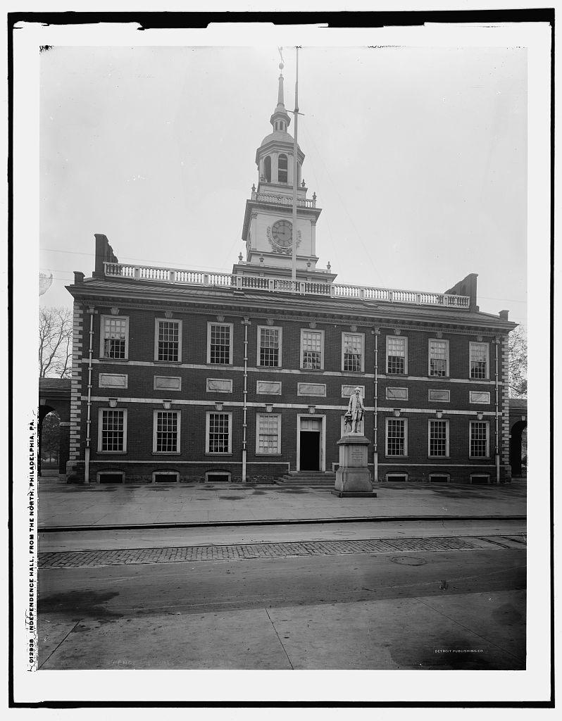 Independance Hall Philadelphia Circa 1900 With Images